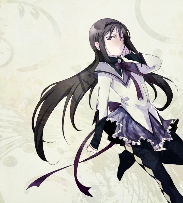 Anime Characters Use Lightning : Akemi homura  zerochan
