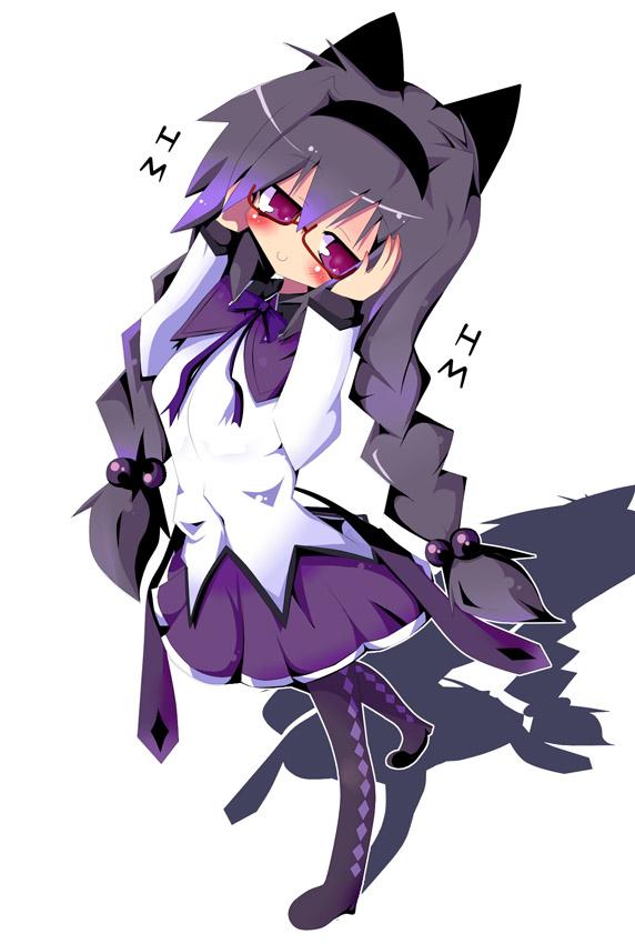 Tags: Anime, Dragonbead, Mahou Shoujo Madoka☆Magica, Akemi Homura