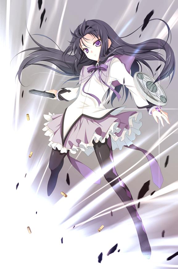 Tags: Anime, Hayakawa Harui, Mahou Shoujo Madoka☆Magica, Akemi Homura