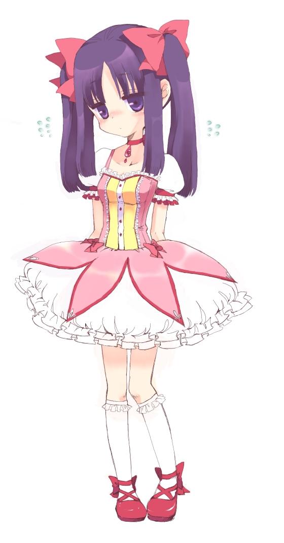Tags: Anime, Ro (Igris-geo), Mahou Shoujo Madoka☆Magica, Akemi Homura, Kaname Madoka (Cosplay)