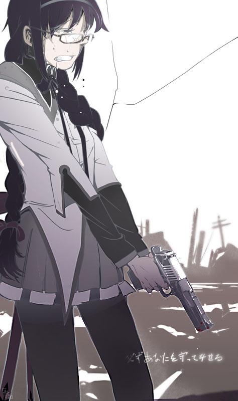 Tags: Anime, Chuc, Mahou Shoujo Madoka☆Magica, Akemi Homura