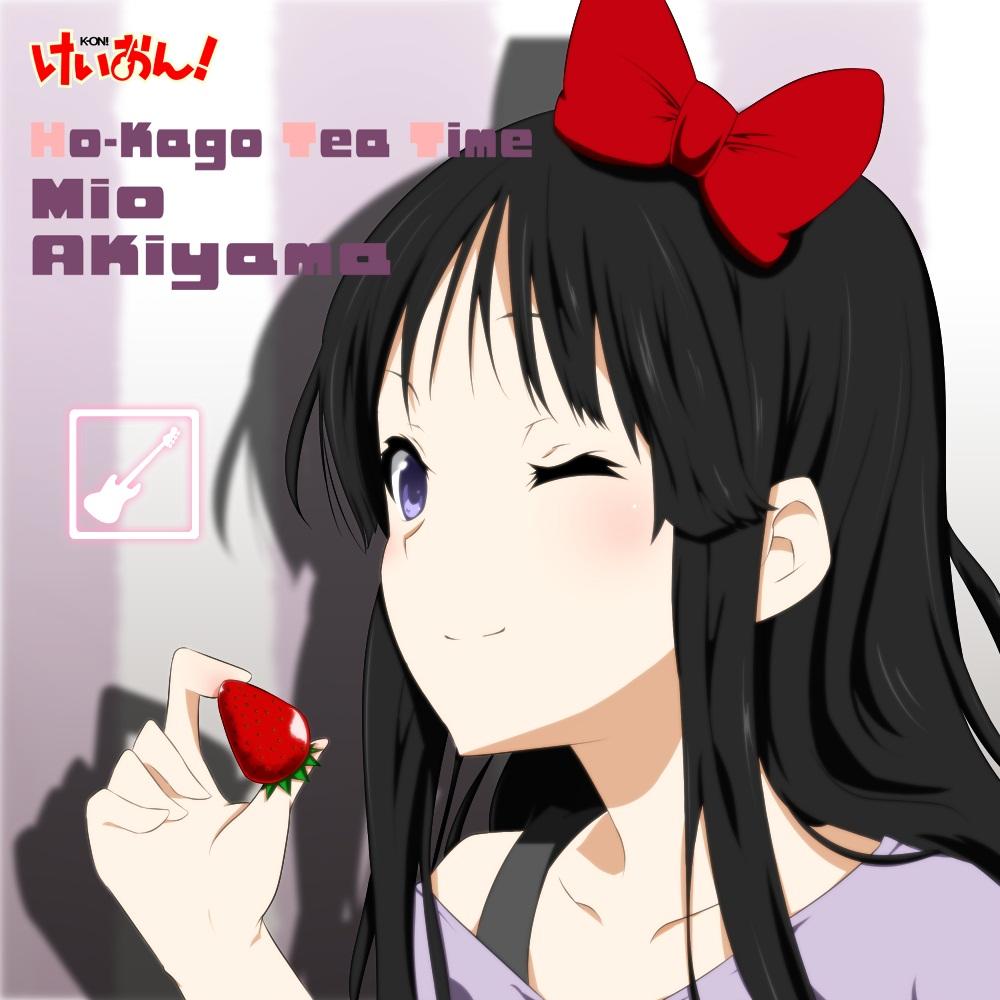 K-ON   Akiyama Mio   K On Listen Mio