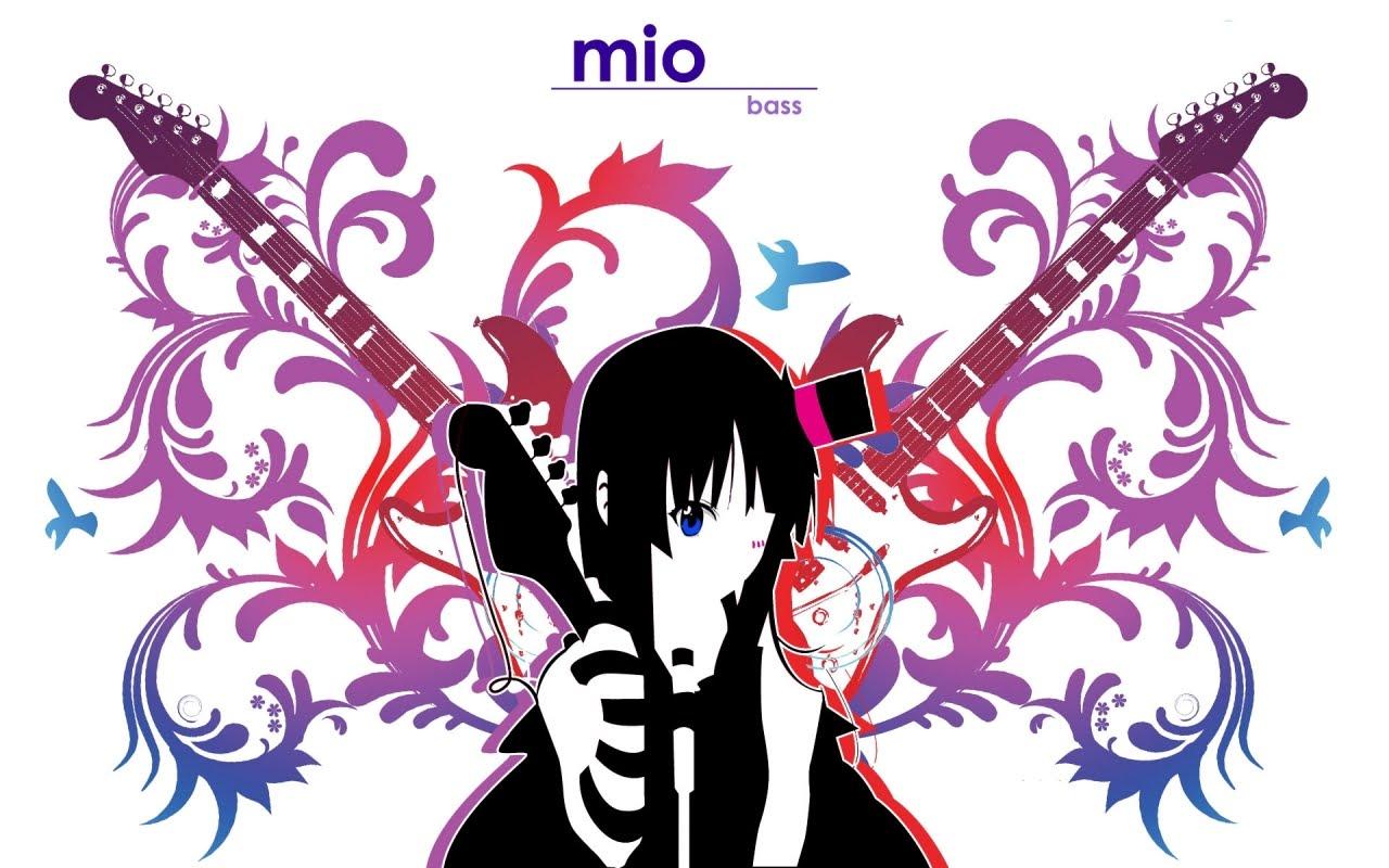 Tags Anime  K-ON    K On Mio Guitar