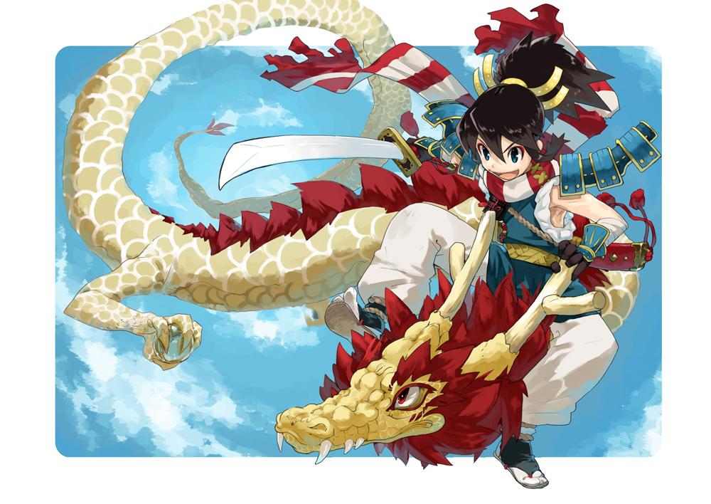 Akiyoshi pixiv1566950 933189 zerochan - Anime boy dragon ...