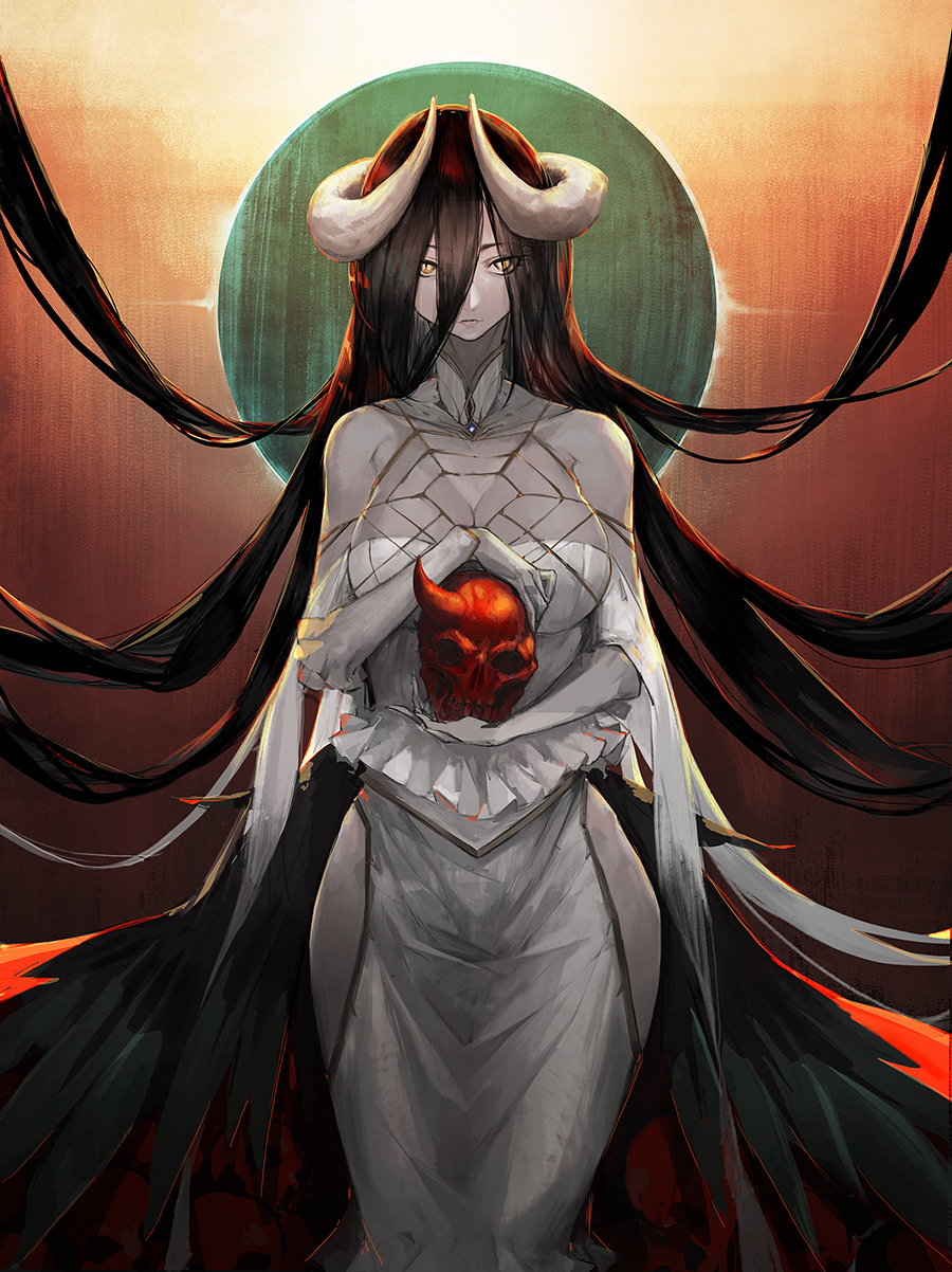 Albedo Overlord Zerochan Anime Image Board