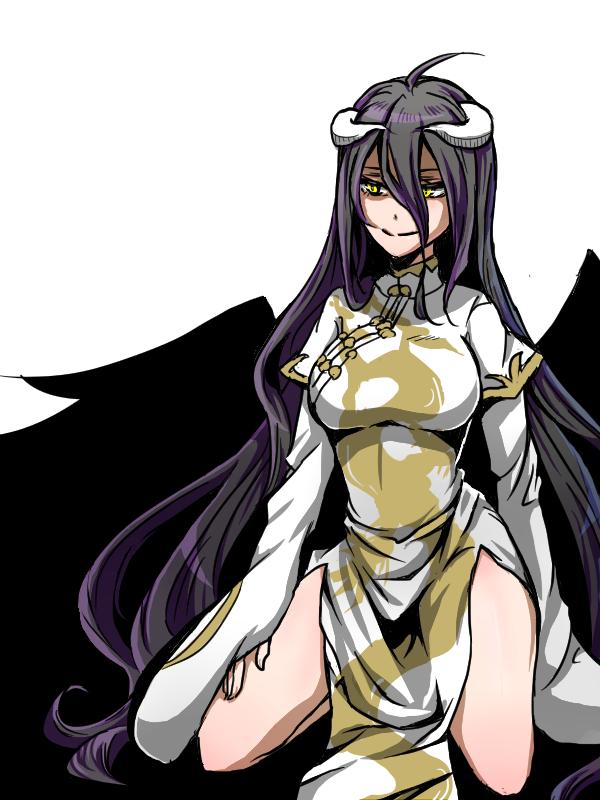 Albedo Overlord Wallpaper 2670424 Zerochan Anime Image