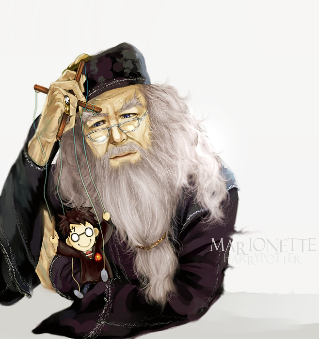Tags: Anime, Flayu, Harry Potter, Harry Potter (Character), Albus Dumbledore, Marionette, deviantART, Fanart