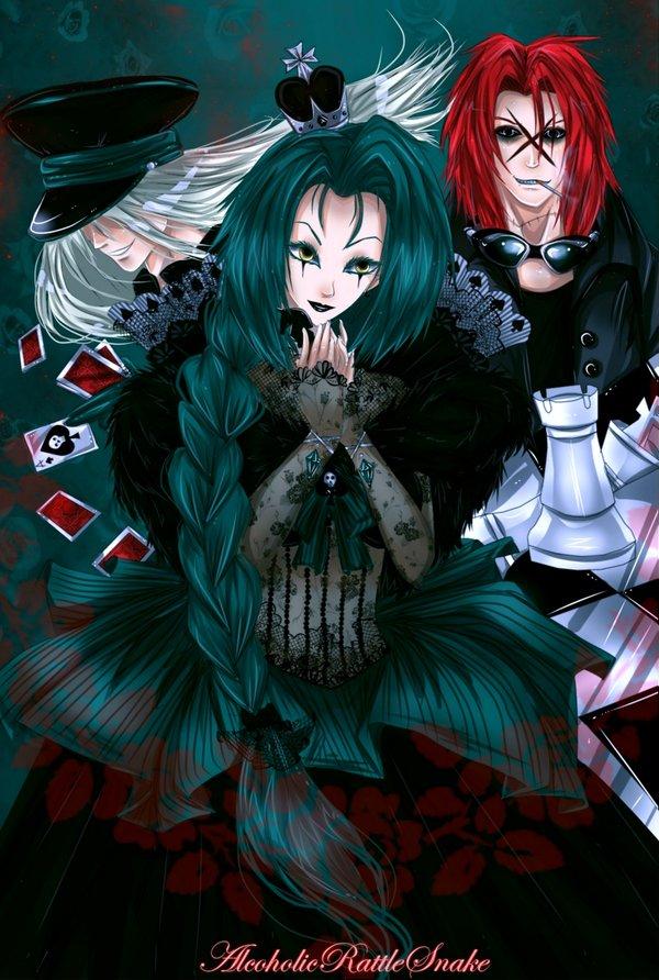 Tags: Anime, AlcoholicRattleSnake, Chess, deviantART