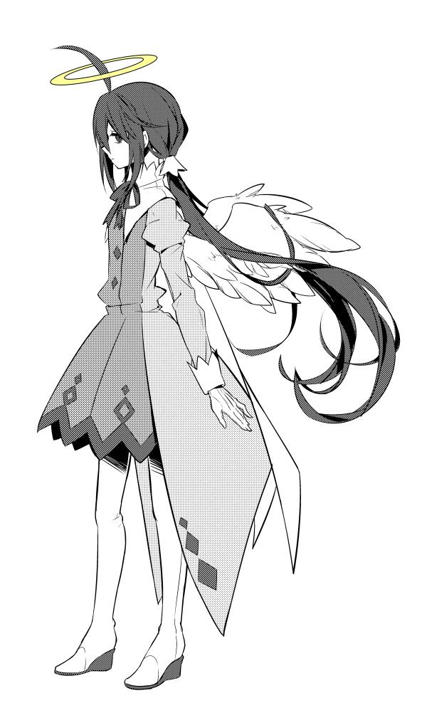 Tags: Anime, Pixiv Id 1030903, Gray Garden, Alela Grora, Mobile Wallpaper