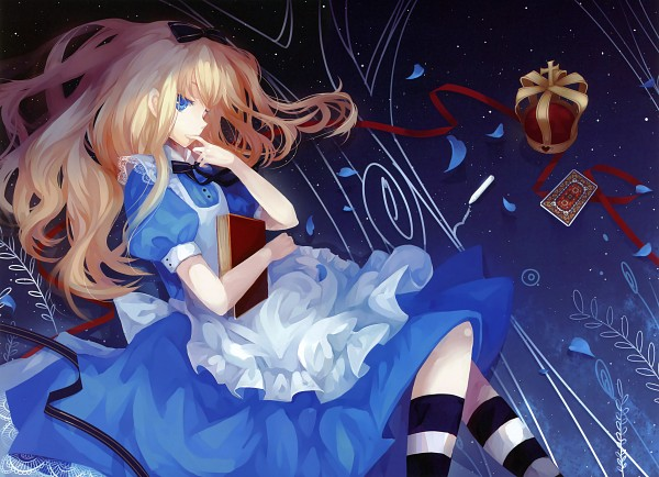 Tags: Anime, Alice In Wonderland, Dhiea, Alice (Alice In Wonderland), Fixed