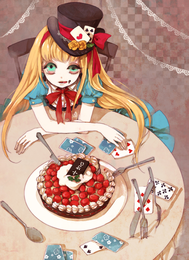 Тортик картинки аниме