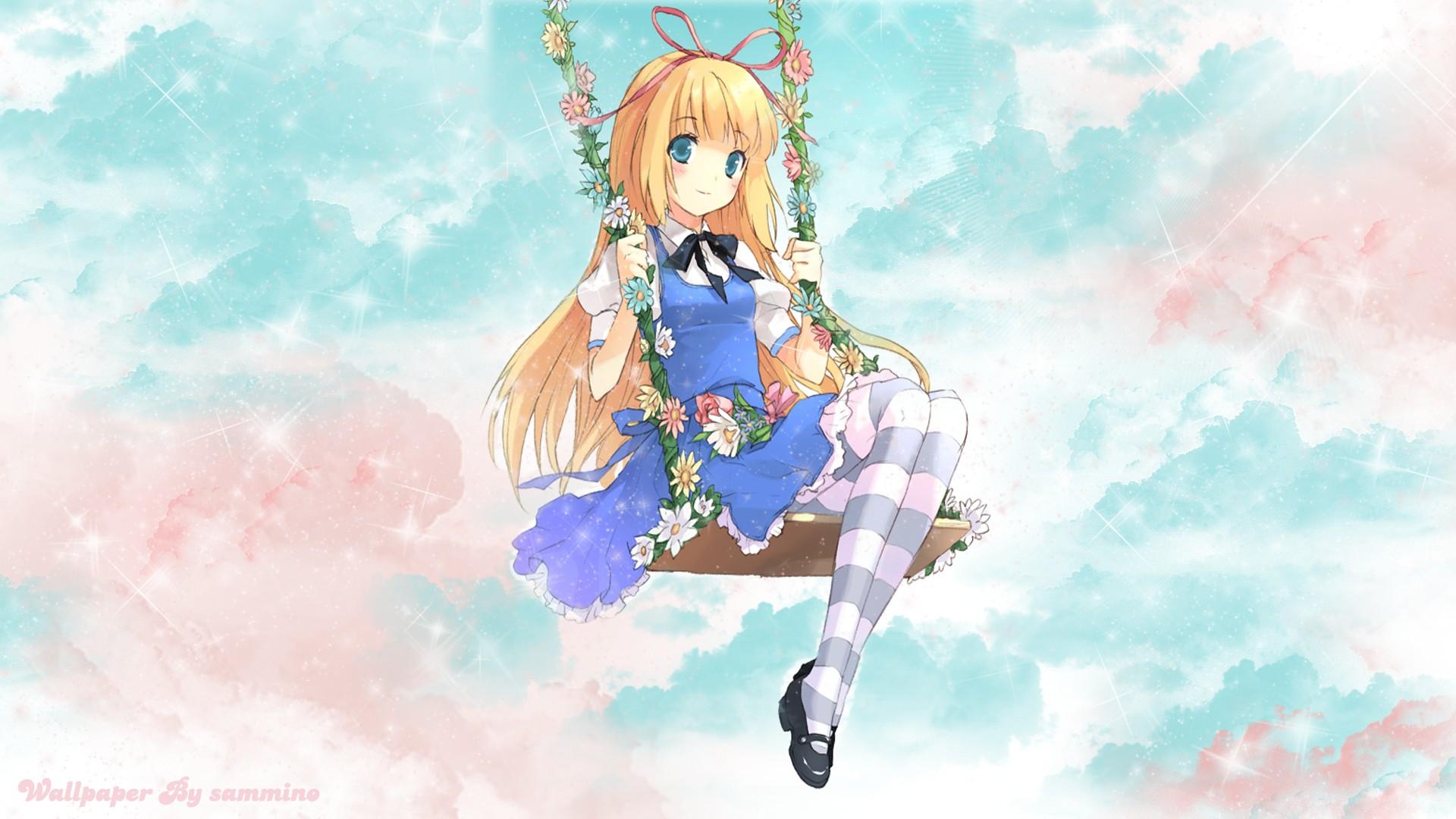 Alice Alice In Wonderland Hd Wallpaper 1072105 Zerochan Anime