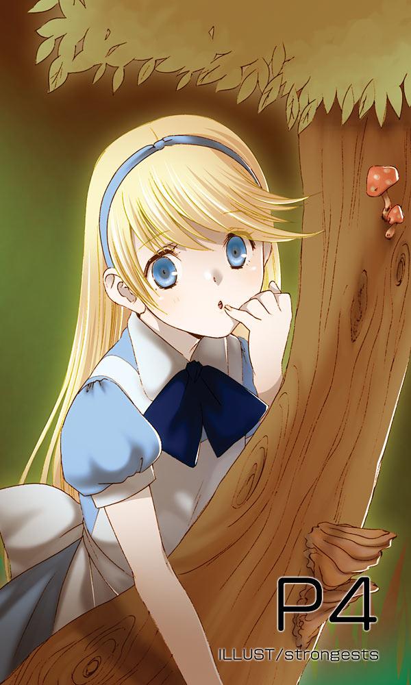 Tags: Anime, Alice in Wonderland, Shin Megami Tensei: PERSONA 4, Alice (Alice in Wonderland), Kuma