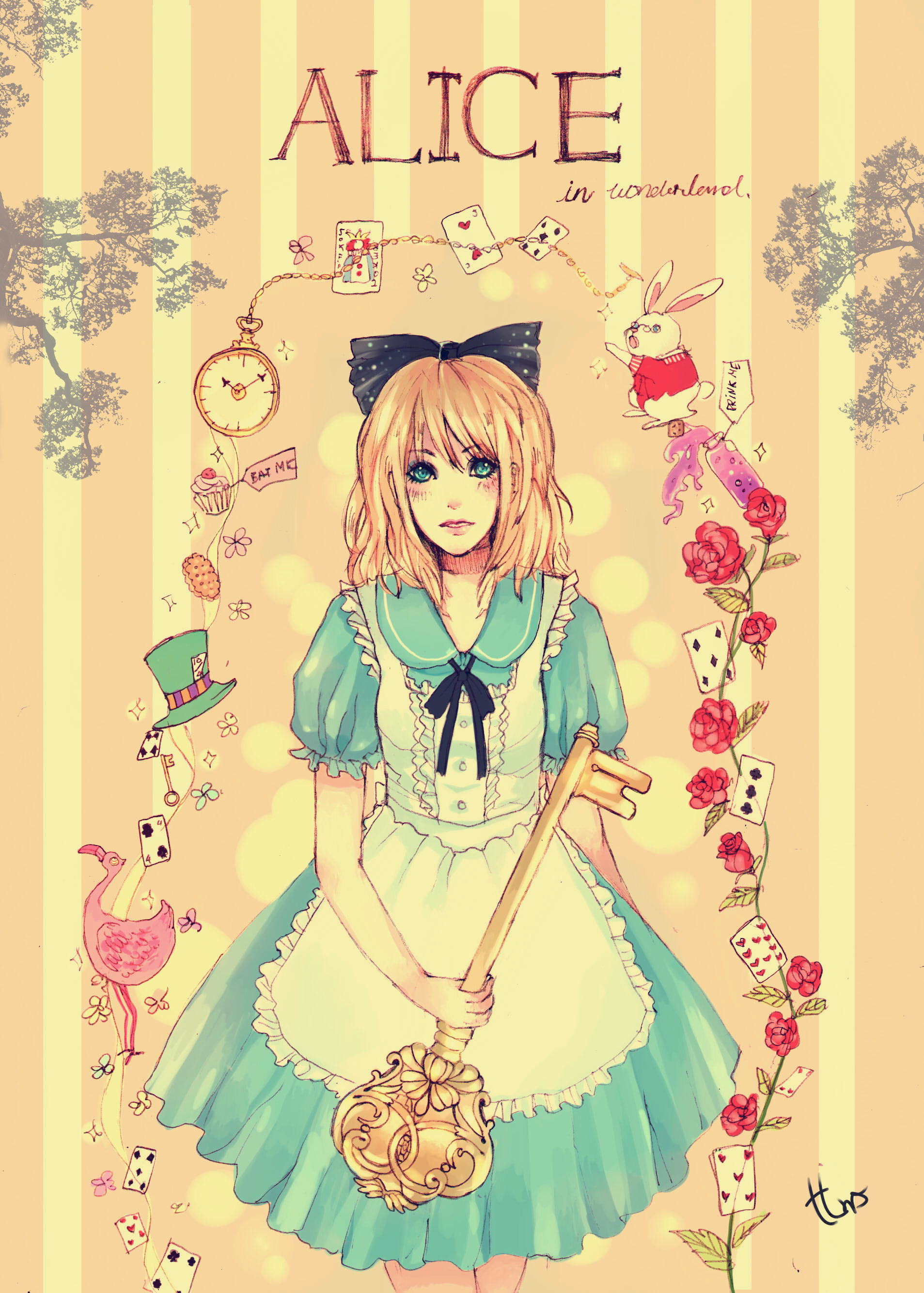 Alice Alice In Wonderland Mobile Wallpaper 1323536 Zerochan