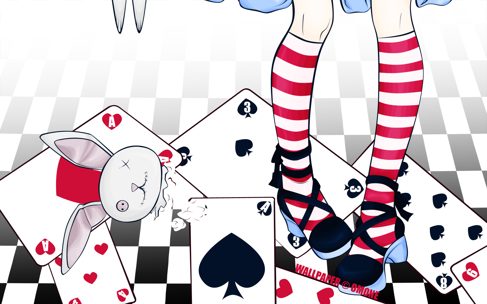 alice in wonderland, wallpaper | page 2 - zerochan anime image board