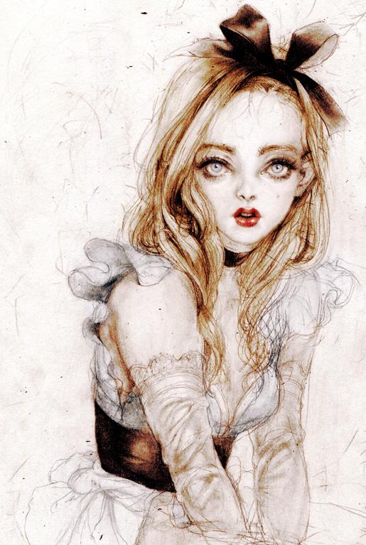 Tags: Anime, Laphet, Alice in Wonderland, Alice (Alice in Wonderland), Pixiv, Mobile Wallpaper