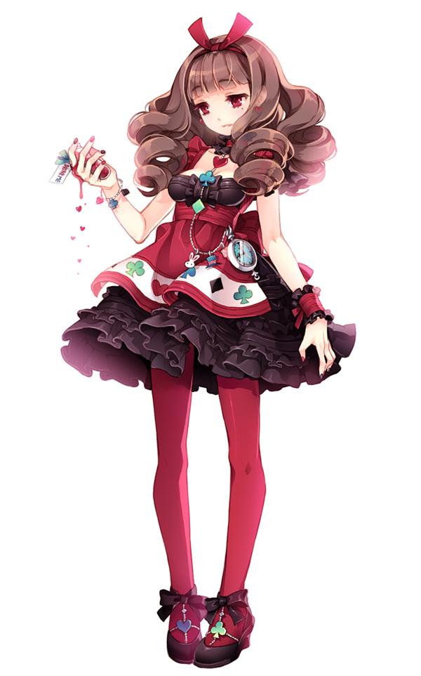 Tags: Anime, tearfish, Alice in Wonderland, Alice (Alice in Wonderland), Mobile Wallpaper, Pixiv