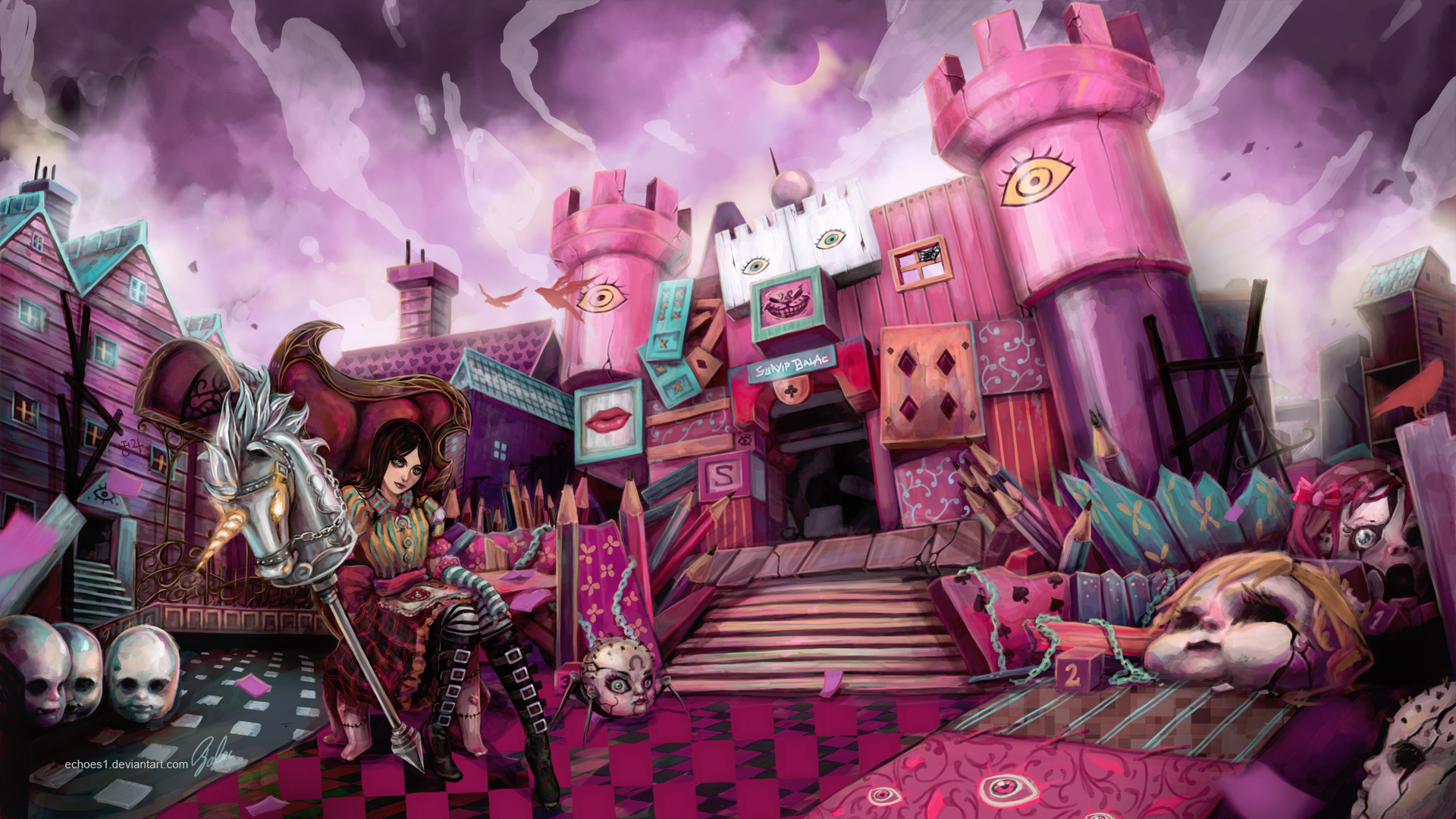 American Mcgee S Alice Wallpaper Zerochan Anime Image Board