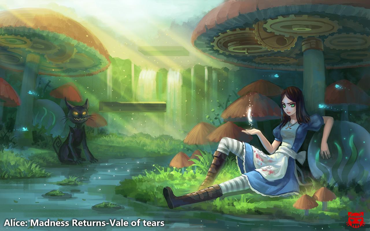 American Mcgee S Alice Madness Returns Wallpaper Zerochan Anime Image Board