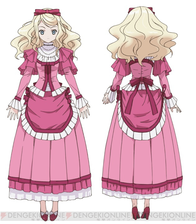 Tags: Anime, Inoue Hideki, Ikoku Meiro no Croisée, Alice Blanche, Official Art