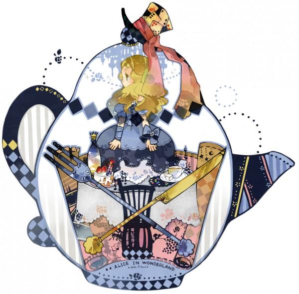 Tags: Anime, Rinju Umisu, Alice in Wonderland (2010 film), Alice in Wonderland, Alice Kingsleigh, Alice (Alice in Wonderland), Silverware