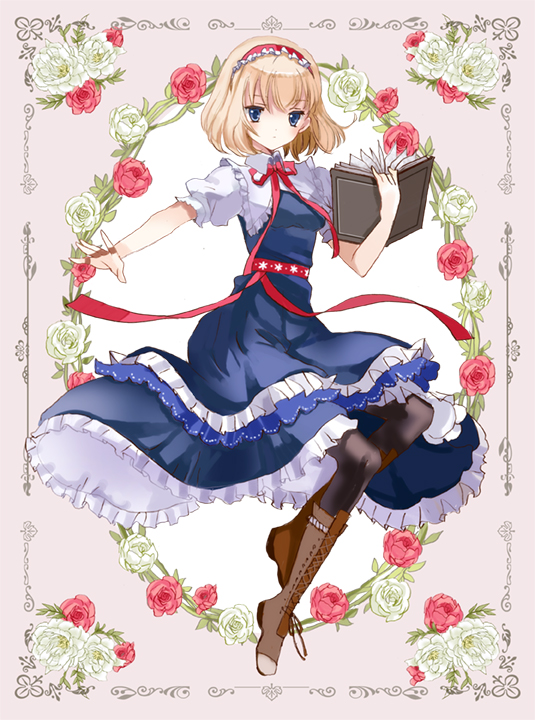 Tags: Anime, Fanart, Touhou, Alice Margatroid, ZUN