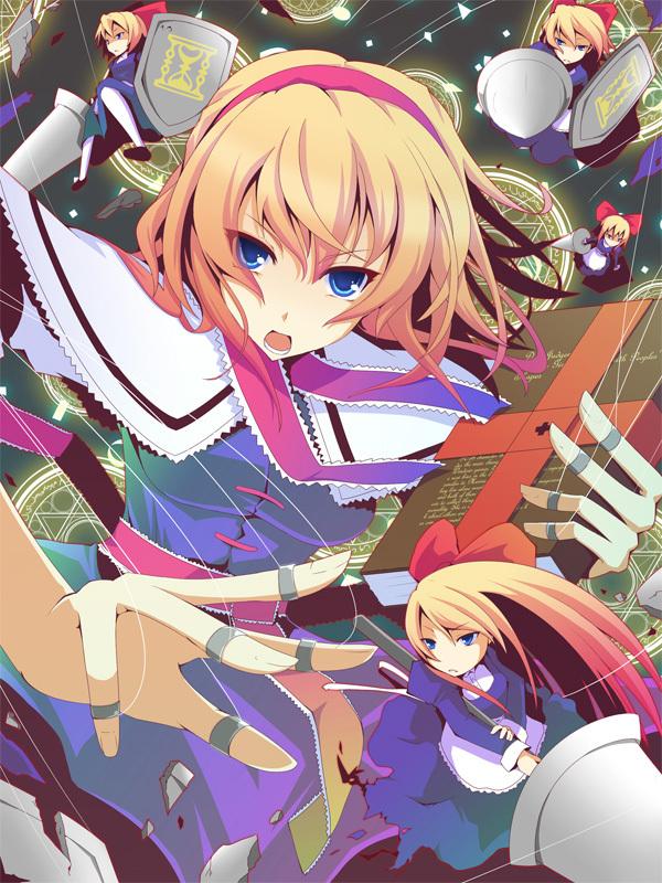 Tags: Anime, Koumei (Artist), Touhou, Shanghai, Alice Margatroid