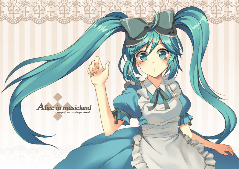 alice in dreamland vocaloid characters miku