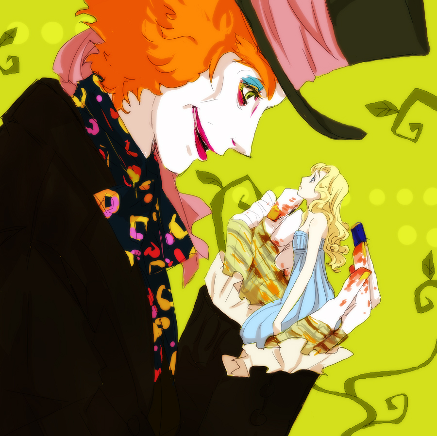 Anime, mebae16, alice in wonderland (2010 film), alice in wonderland