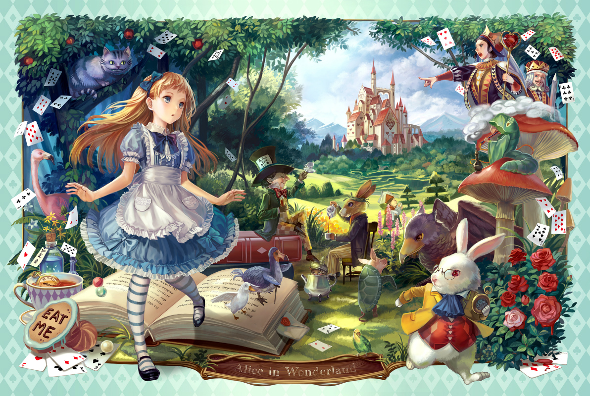 Very short summary of alice in wonderland-8440