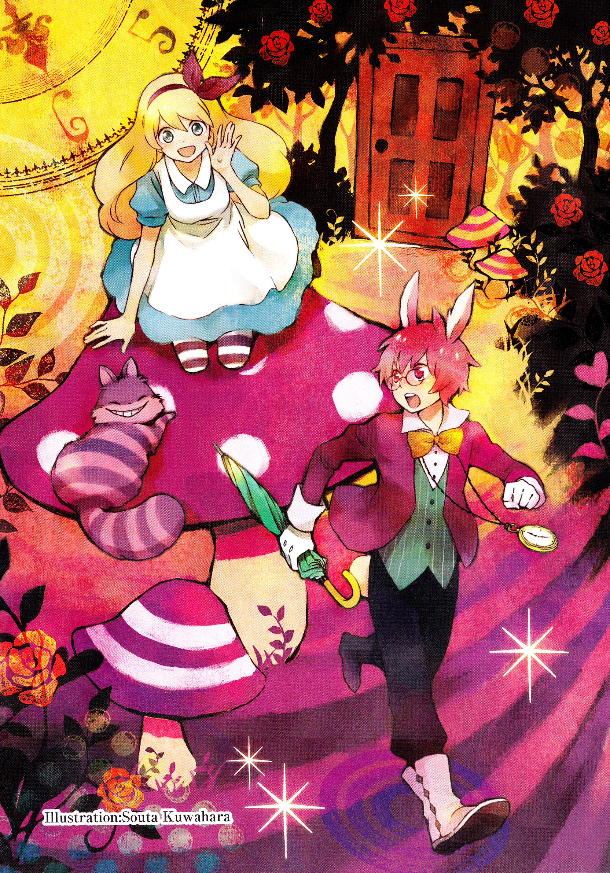 White apron alice in wonderland - Tags Anime Montre Kuwahara Souta Alice In Wonderland Robe Apron