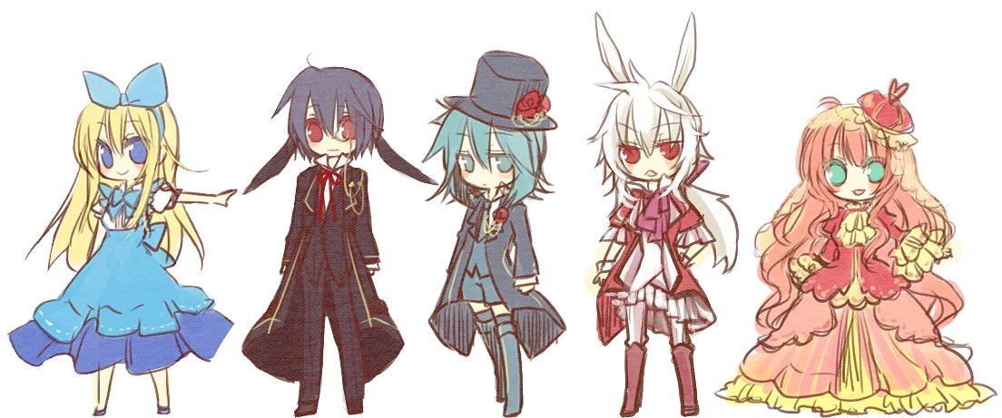 Alice In Wonderland March Hare Zerochan Anime Image Board
