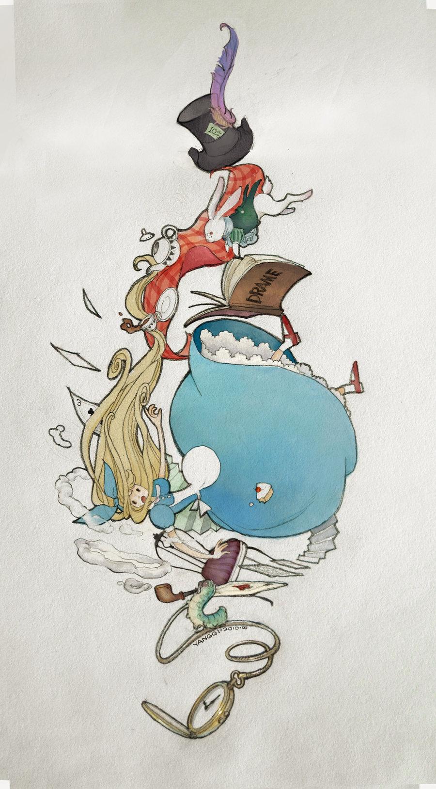 Alice In Wonderland Mobile Wallpaper 678720 Zerochan
