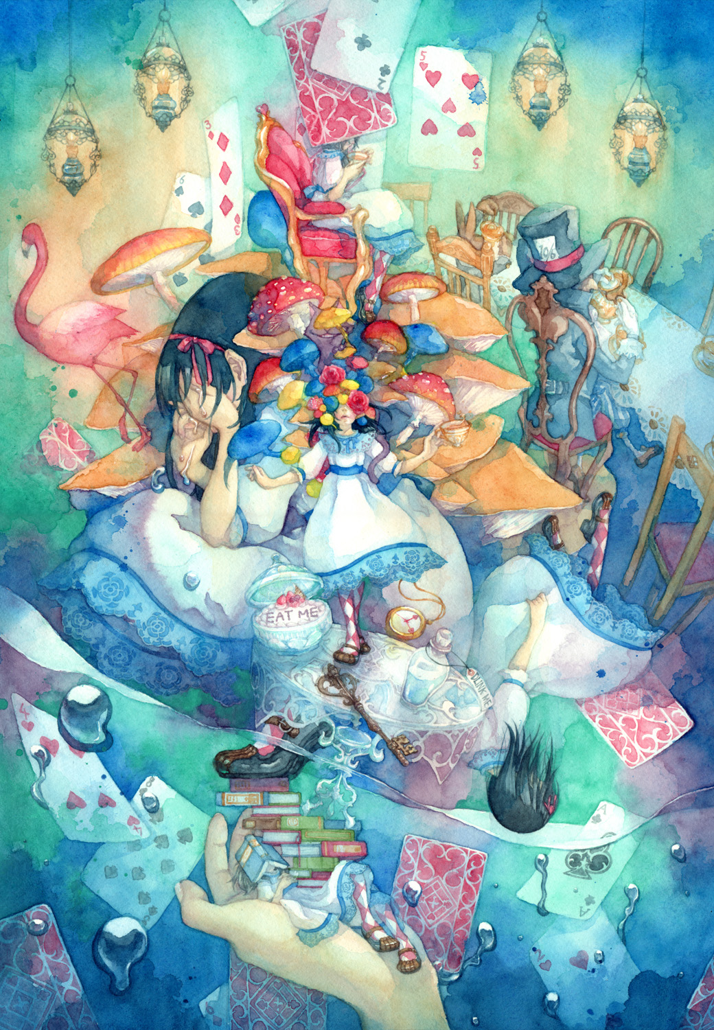 Alice in Wonderland Mobile Wallpaper #736402 - Zerochan ...