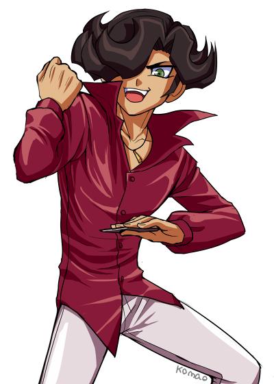 Tags: Anime, Pixiv Id 1906197, Yu-Gi-Oh! ZEXAL, Yu-Gi-Oh!, Alito, >:D, Fanart, PNG Conversion, Pixiv, Fanart From Pixiv