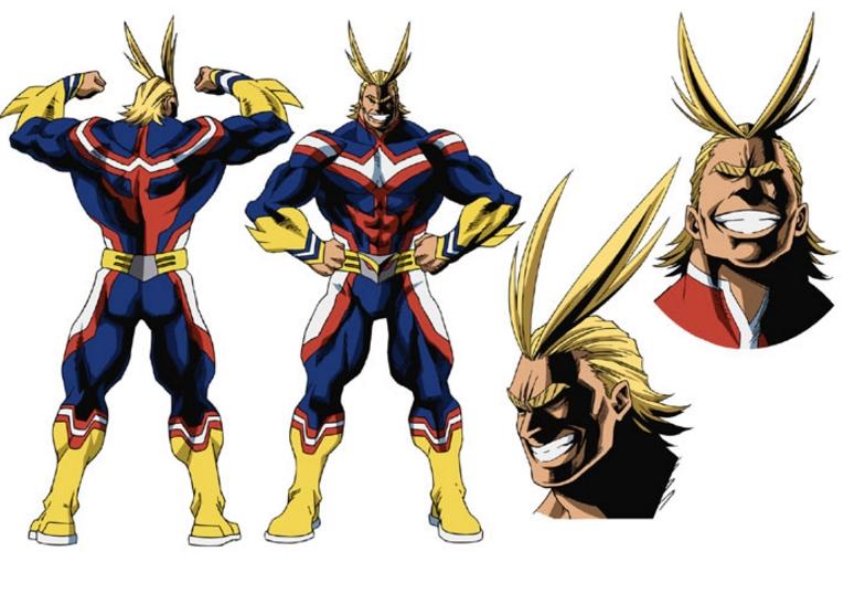 Resultado de imagen para boku no hero academia all might