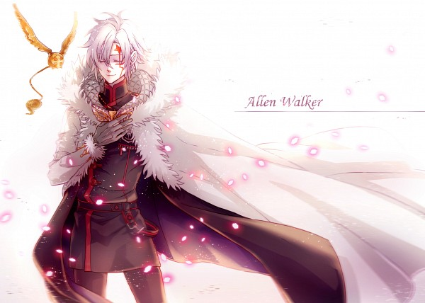 Tags: Anime, Kuro (Pixiv12803091), D.Gray-man, Timcanpy, Allen Walker, Hand on Chest, Fur