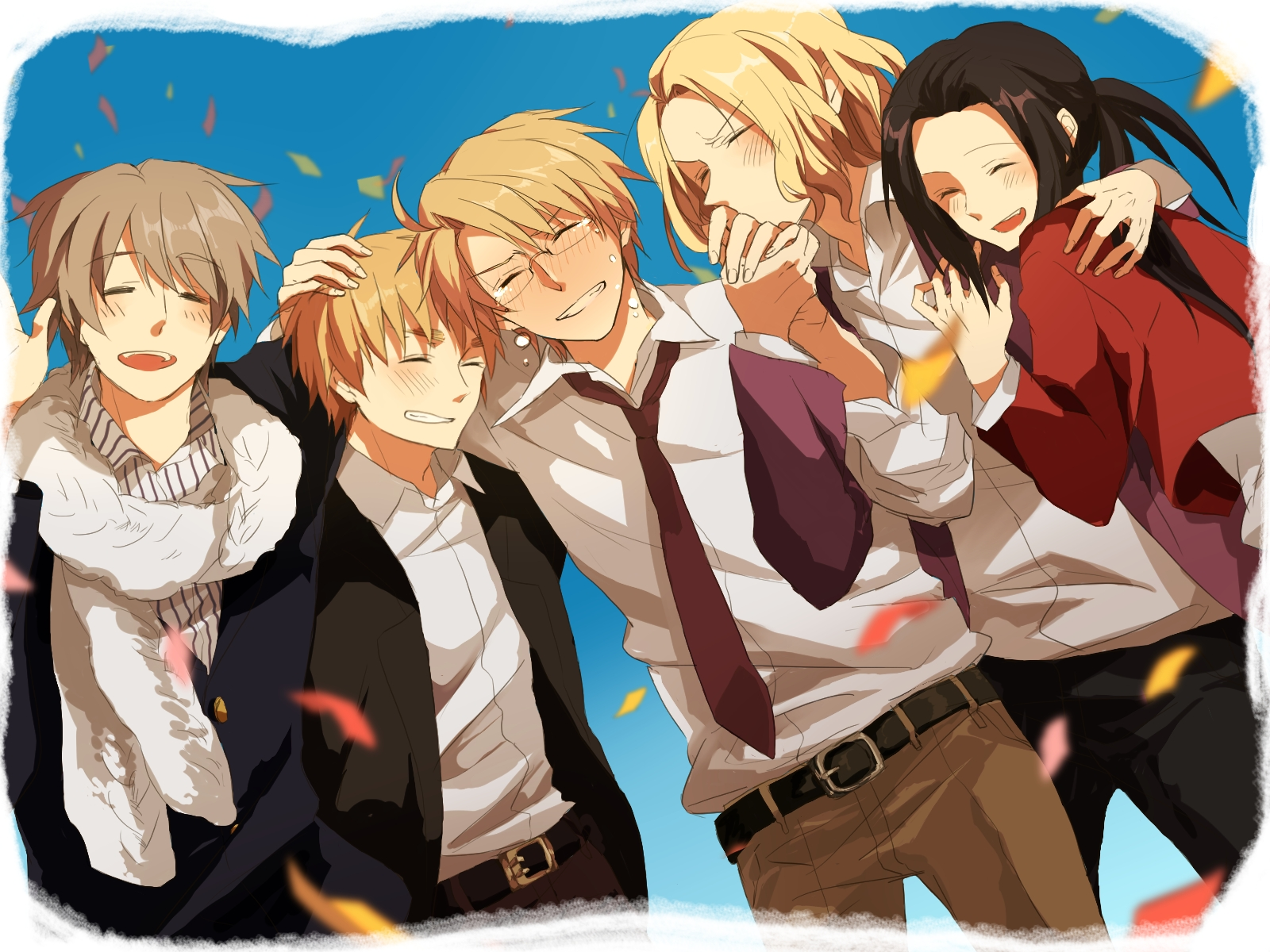 Axis Powers Hetalia The Allies / Characters - TV Tropes