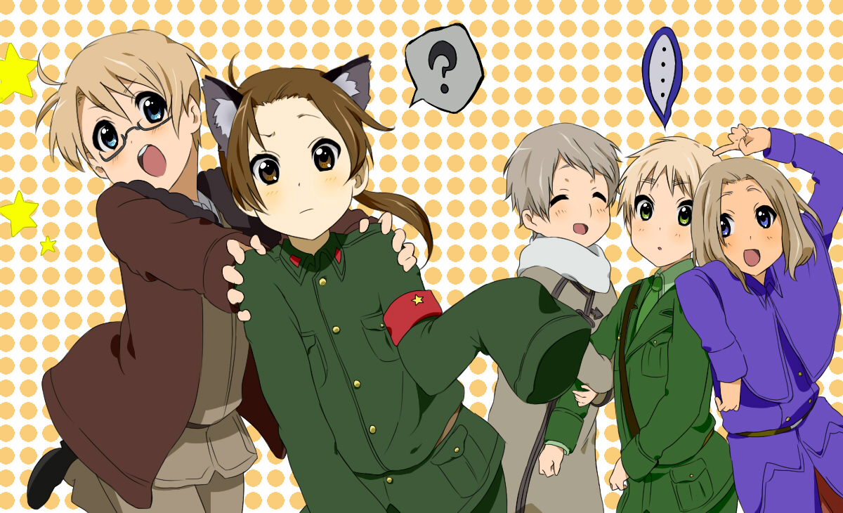 Allied forces axis powers hetalia image 272918 zerochan tags anime kurok0 axis powers hetalia united states russia publicscrutiny Images