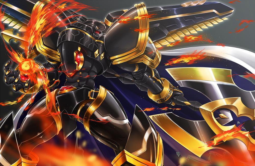Alphamon - Digimon Adventure - Zerochan Anime Image Board