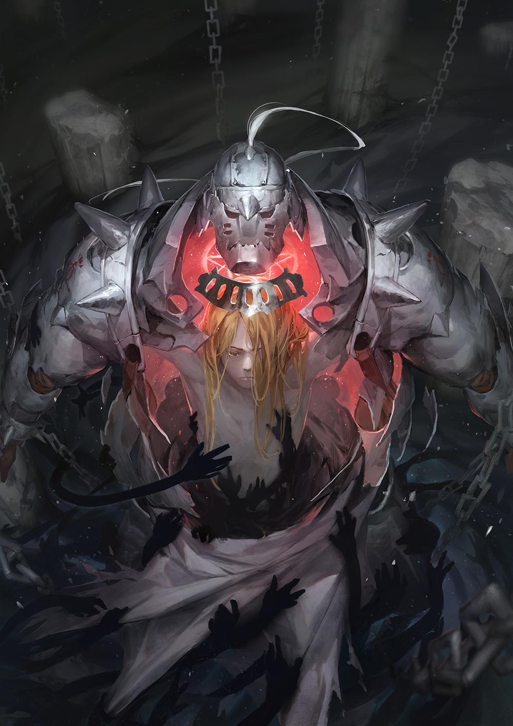 Tags Anime Zheng Dai Chen Fullmetal Alchemist Alphonse Elric Pixiv