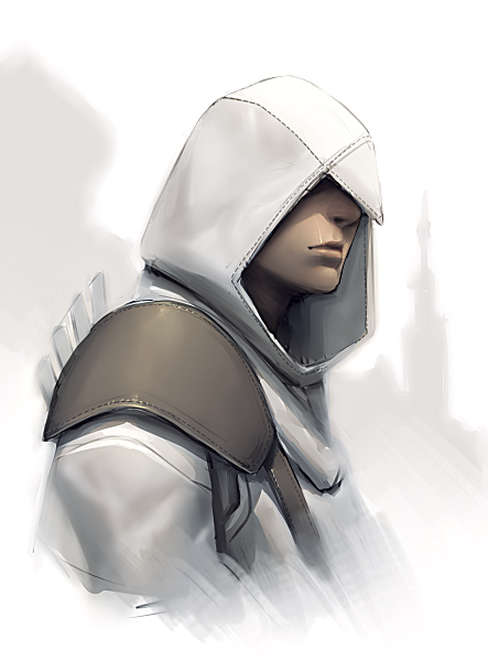 Tags: Anime, Pixiv Id 24726, Assassin's Creed, Altair Ibn La-Ahad, Detailed, Pixiv
