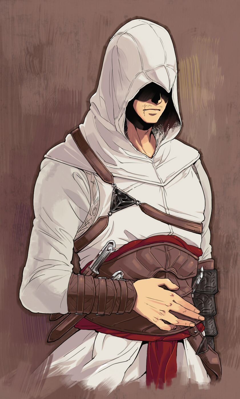 Altair Ibn La Ahad Assassin S Creed Mobile Wallpaper 1113237 Zerochan Anime Image Board