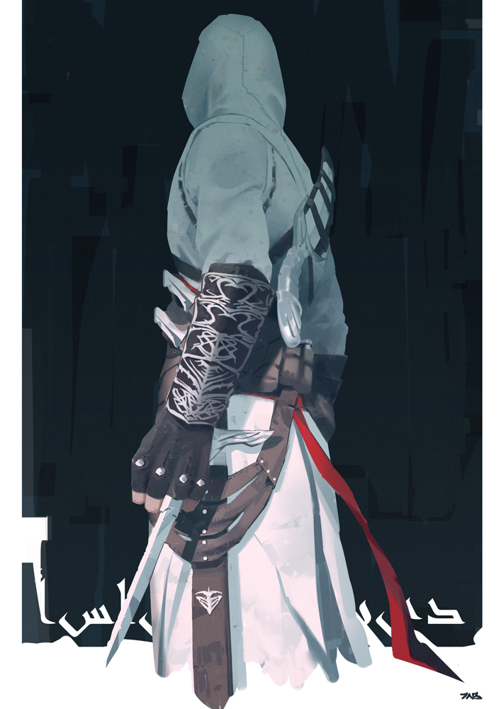 Altair Ibn La Ahad Assassins Creed Mobile Wallpaper