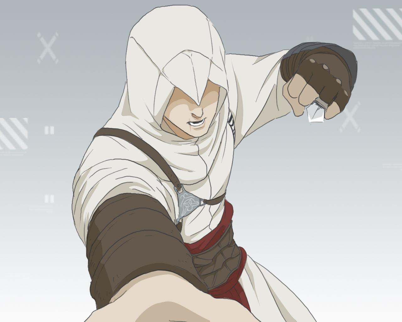Altair Ibn La-Ahad - Assassin's Creed - Wallpaper #357906 ...