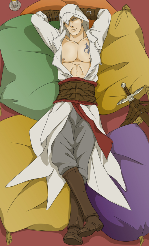 Tags: Anime, Doubleleaf, Assassin's Creed, Altair Ibn La-Ahad, Mobile Wallpaper
