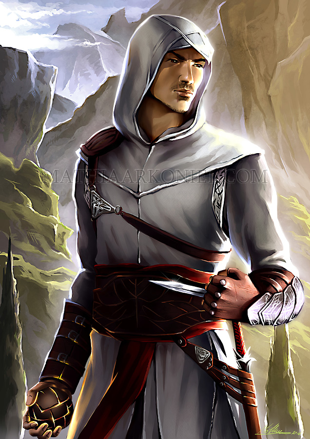 Tags: Anime, MathiaArkoniel, Assassin's Creed, Altair Ibn La-Ahad