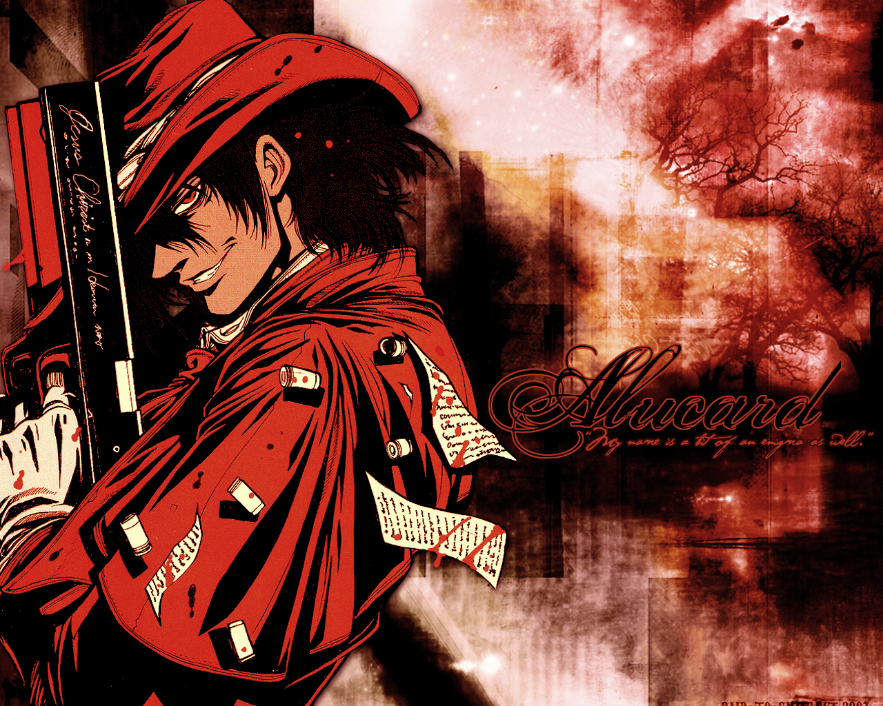 Alucard hellsing wallpaper zerochan anime image board - Anime hellsing wallpaper ...