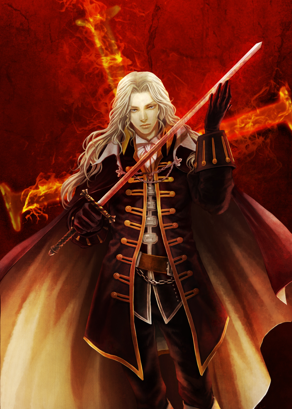 alucard  castlevania  - castlevania  symphony of the night - mobile wallpaper  559522