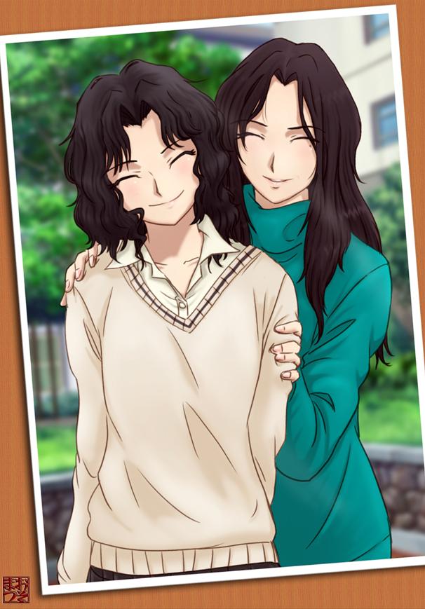 Tags: Anime, Osomatu-sama, Amagami, Tanamachi Kaoru, Pixiv, Fanart From Pixiv, Fanart, Character Request